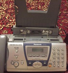 Телефон-факс Panasonic KX-FD148