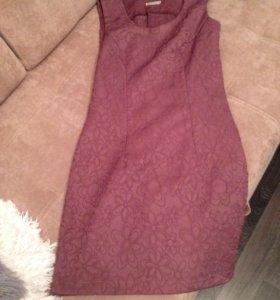 Платье с укорочённым пиджаком