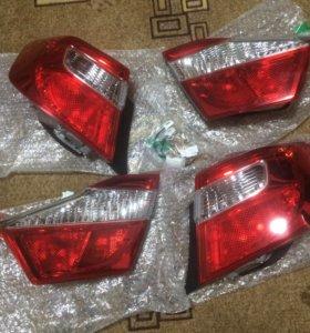 Задние фонари на Toyota Camry v50