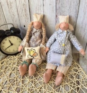 Куклы ручной работы, сонные ангелы