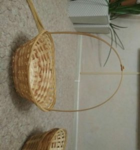 Корзины из бамбука подарочные