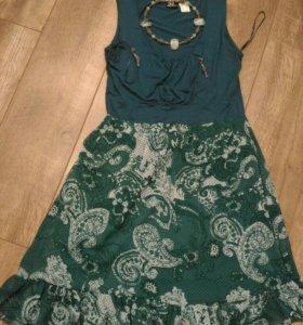 Платье+ожерелье
