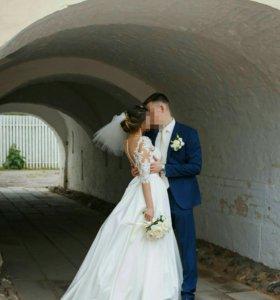 Модное свадебное платье!