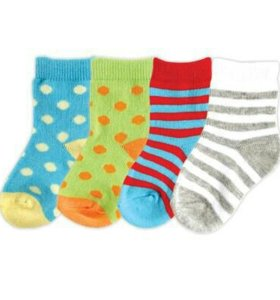 Носки детские, комплект 4 пары