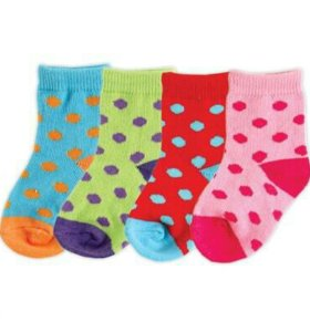 Носки детские Горох, 4 пары