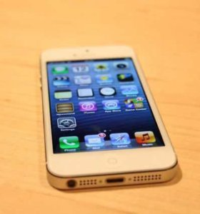 Айфон 5s сильвер