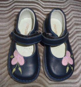 Туфли для девочек-новые-Франция,р.24