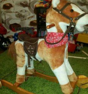 Лошадка-качалка с колесами СРОЧНО! !!