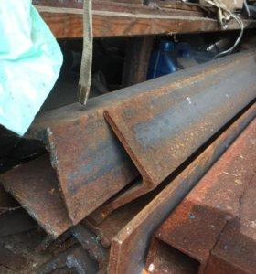 Металл, уголки , двутавры и тд