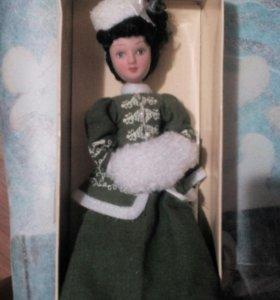 Кукла керамическая новая Анна Каренина