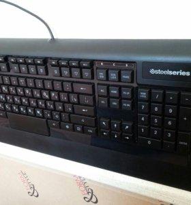 Игровая клавиатура Steelseries Apex Raw