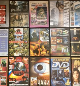 45 dvd дисков по 6р.