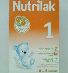 Детская молочная смесь Nutrilak 1 (0-6 мес) 350 г