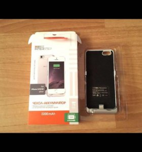 Чехол-аккумулятор на iPhone 5,5S,SE.