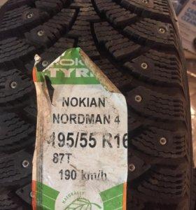 Nokian Nordman 4 195/55 R16