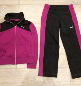 Спортивный костюм PUMA, размер 110-116 (5 лет)