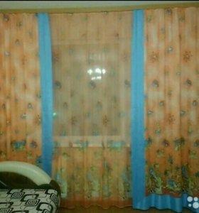 Детские тюль и шторы