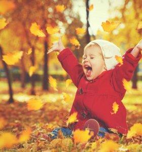 Осенняя фотосессия в парке или в фотостудии