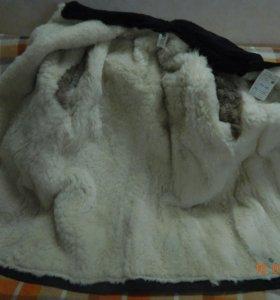продаю пальто муж на натур овчине новое
