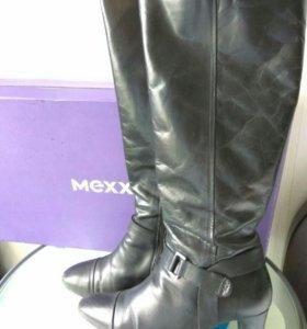 Сапоги mexx 40 кожа