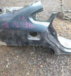 Крыло заднее правое для Nissan Almera (G15) 2013>