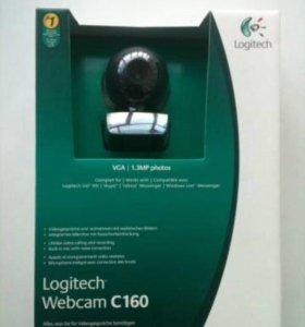 Веб камера Logitech webcam c160