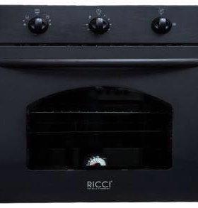 Встраиваемый газовый духовой шкаф RICCI RGO-610BL