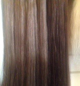 Волосы для наращивания в срезах