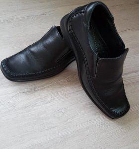 Туфли для мальчика нат.кожа.