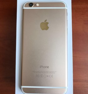 iPhone 6 Gold, 16 Gb