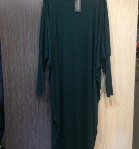 Платье трикотажное, новое, большой размер
