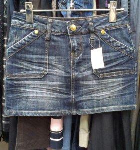 Юбка(джинсовая)