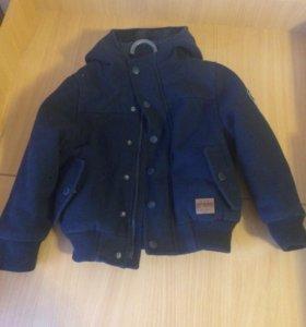 Куртка на мальчика 4 года
