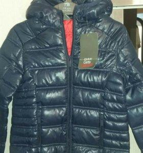 Новая куртка для девочки, 5-6 лет, 118 см. Zara