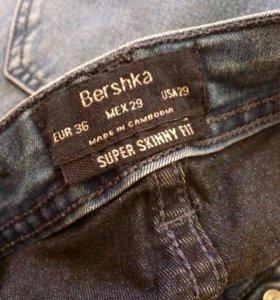 "Джинсы узкие ""Bershka"""