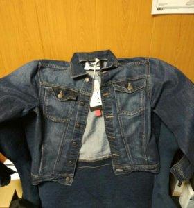 Пиджак мужской джинсовый новый