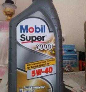 Масло моторное Mobil Super 3000 X1 5w40 синтетика.