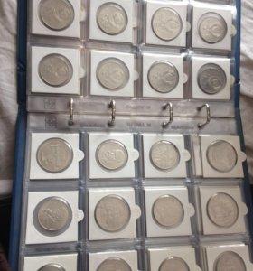 Коллекция юбилейных монет ссср