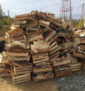 Ящики на дрова