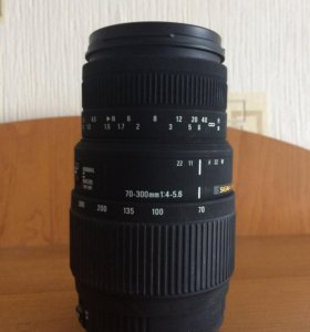 Объектив для Canon Sigma 70-300 1:4-5.6