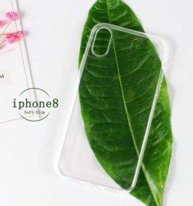 TPU силиконовый чехол для iPhone 8