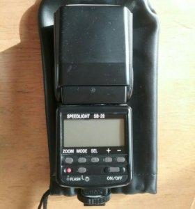 Вспышка Nikon speedlight sb 28