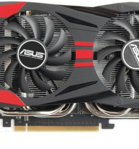 Видеокарта asus GeForce GTX 760 (GTX760-DC2OC-2GD5