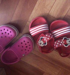 Летняя обувь для девочки