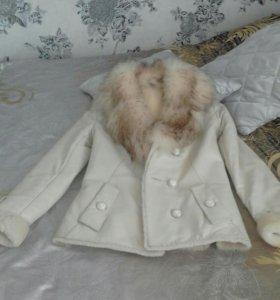 Продам натуральную кожанную теплую куртку