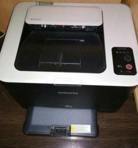 Принтер цветной лазерный Самсунг.