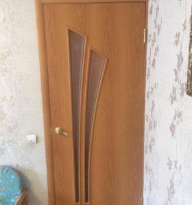 Двери межкомнатные немного бу