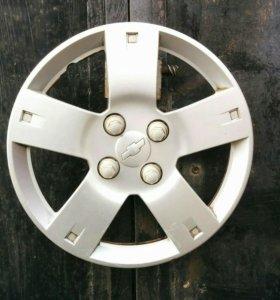 """Колпаки Chevrolet Aveo 14"""" б/у оригинал."""