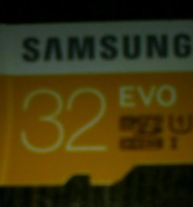 Micro SD Самсунг EVO 32GB