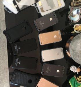 Продам чехлы и стекла на iPhone 6-6s